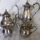 SALE!! K. Uyeda 950 Sterling TEA COFFEE Set in Original Box JAPANESE No Mono