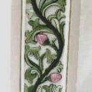 Pedestal Plaster Vine Flower