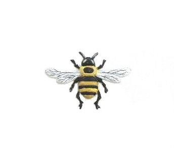 Bumble Bee   Refrigerator Magnet   Handpainted Magnets   Insect Magnets