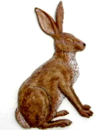 Rabbit | Ornament | Hand-Painted Gifts | Decor