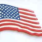American Flag | Ornament | Hand-Painted Gifts | Decor
