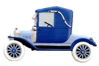Antique Car | Ornament | Hand-Painted Gifts | Decor