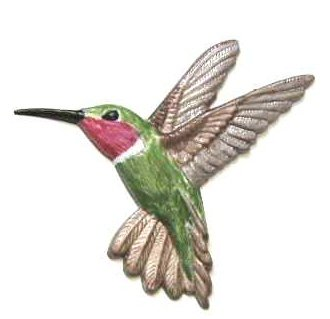 Hummingbird | Ornament | Hand-Painted Gifts | Decor