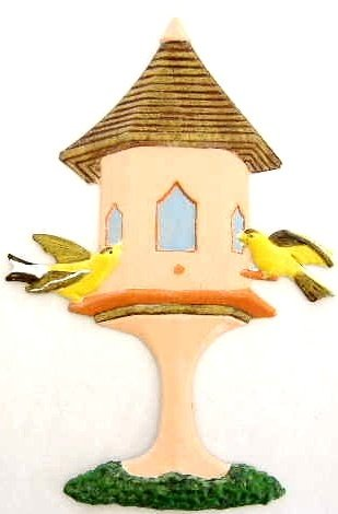Birdhouse | Ornament | Hand-Painted Gifts | Decor
