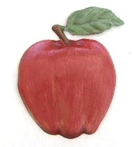 Apple | Ornament | Hand-Painted Gifts | Decor