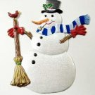 Snowman | Christmas Ornament | Hand-Painted Gifts | Decor