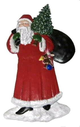 Santa | Christmas Ornament | Hand-Painted Gifts | Decor