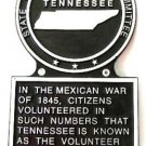 Tennessee State Histerical Marker Large Handpainted