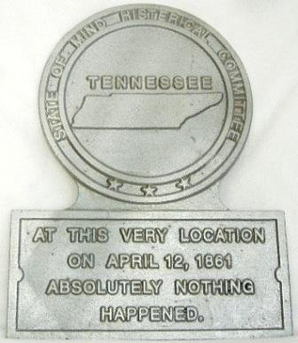 TN State Histerical Marker Small Handpainted