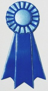 Prize Ribbon Hand-Painted