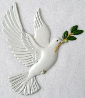 Dove   Ornament   Hand-Painted Gifts   Decor
