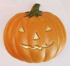 Pumpkin | Jack O'Lantern | Ornament | Hand-Painted Gifts | Decor