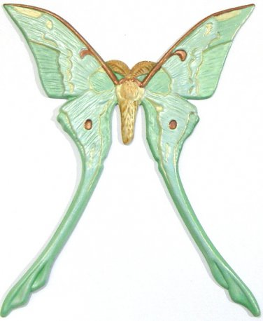 Luna Moth | Refrigerator Magnet | Handpainted Magnets | Insect Magnets