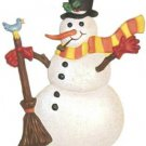 Snowman   Refrigerator Magnet   Custom Handpainted Magnet   Seasonal Magnets