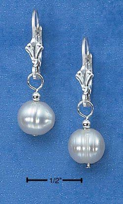 Sterling Silver with Freshwater Pearl Earrings