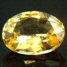 #9529 Yellow Sapphire - Medium Yellow Natural 0.88cts