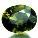 #9566 Konerupine Green Cushion Natural 3.12cts