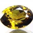 #9076 Chrysoberyl Medium Green  Natural 5.77 cts