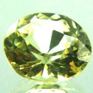 #10783 Chrysoberyl Medium Green Natural 3.17 cts