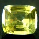 #10784 Chrysoberyl Medium Green Natural 3.11 cts