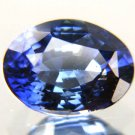 #10798 Blue Sapphire - Cornflower Blue Natural  1.88 cts