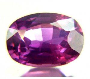 #11756 Sapphire Reddish Purple Natural 1.65cts