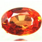 #11973 Sapphire - Deep Orange Natural 0.52 cts