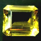 #4604 Apatite Medium Yellow Green Natural 26.46 cts