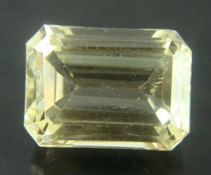 #7899 Spodumine Light Yellow Natural 38.44 cts