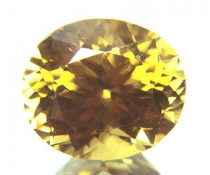 #12067 Zircon Medium Brown Natural 5.01cts