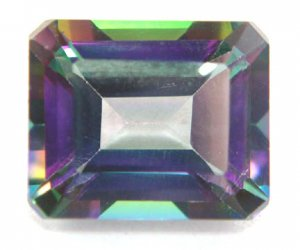 7322  Mystic Topaz Natural 8.37cts  Beautiful Multi Color