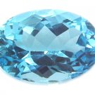 9020 Topaz Medium Blue Natural 18.26cts