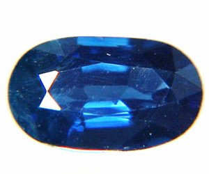 9141 Sapphire Cornflower Blue Natural 0.61cts