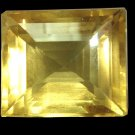 9280 Lime Citrine - Yellow Green Natural  23.08cts