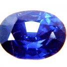 9629 Sapphire Cornflower Blue Natural 1.25cts