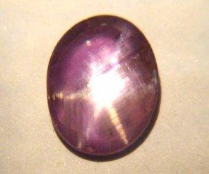 Star Sapphire Beautiful Purple 9698