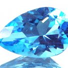 Swiss Blue Topaz Natural 5.78 cts 9737