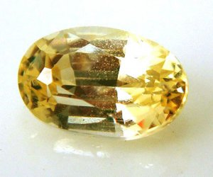 9890 Yellow Sapphire Natural 0.85 cts