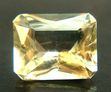 Beryl Yellow Octagon 4.45 cts 9266