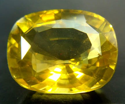 Lime Citrine Cushion 23.95 cts 9283
