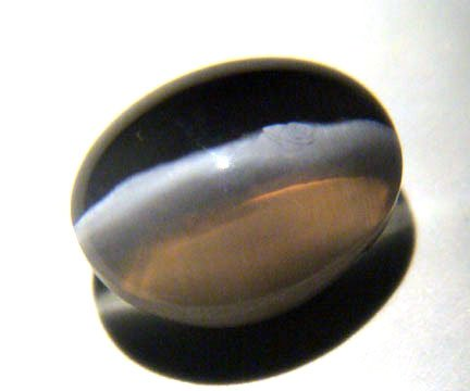 Silimanite Catseye 4.90 cts Oval 10653