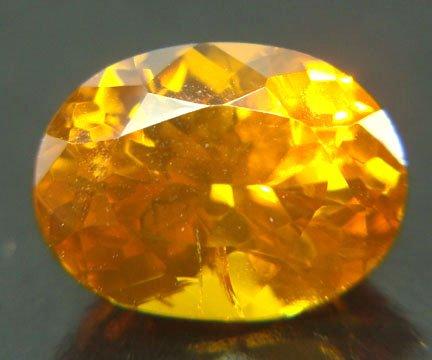 Zircon - Golden Yellow 2.42 cts 11672