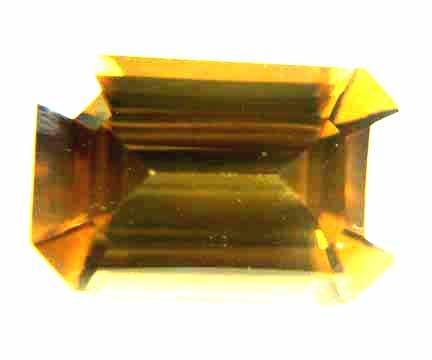 Zircon Golden Brown 3.71 cts 12412