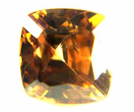 Zircon Medium Golden Brown 3.59 cts 12413