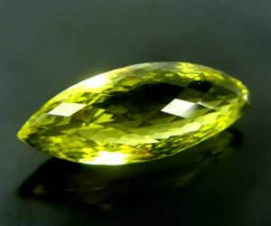 Lime Citrine Medium Yellow Green 26.02 cts 12510