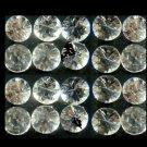 White Sapphire 21 Pcs 2.25mm 1.17 cts 13537