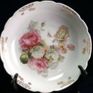 Schwartzenhammer Bavaria Germany Schumann and Schreider pink yellow rose bowl