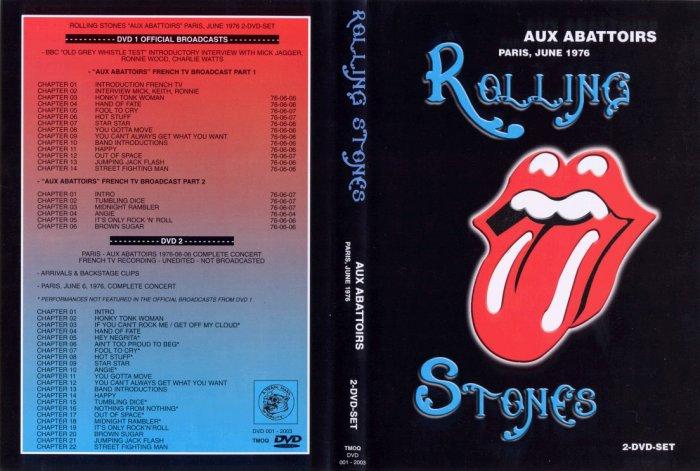 Rolling Stones 1978 2 DVD Live Set
