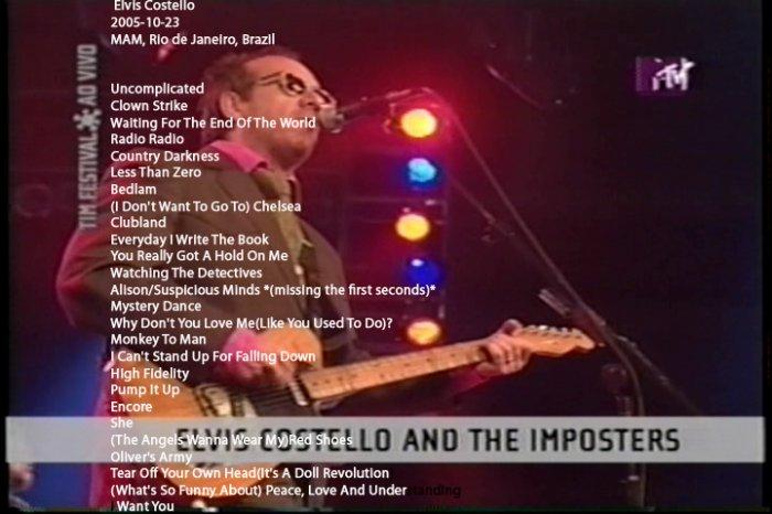 Elvis Costello 2005