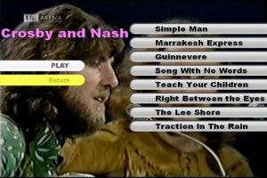 Davis Crosby and Graham Nash 1970 Live DVD